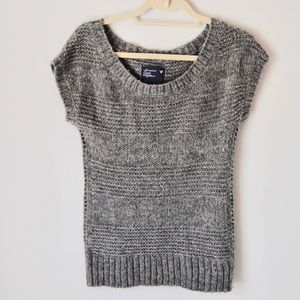 American Eagle Short Sleeve Sweater Top